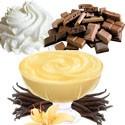 Chocolates, Vainillas y Cremas