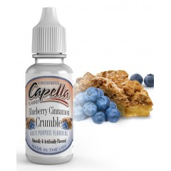 Blueberry Cinnamon Crumble 4oz -cap